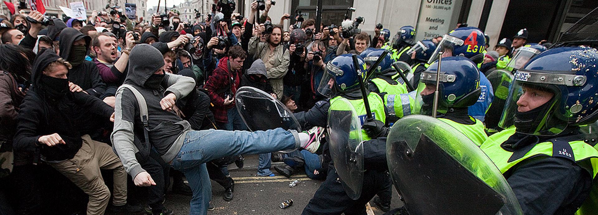 Protestors strike again in New York