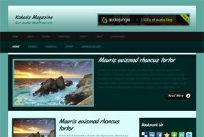 Kokolis Free Wordpress Theme