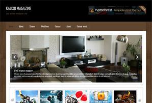 Kalixo Magazine Free Wordpress Theme