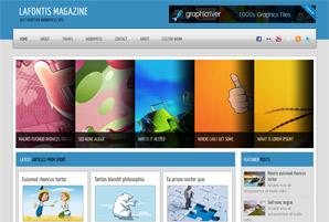 Lafontis Magazine Free Wordpress Theme