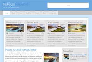Mupolis Magazine Free Wordpress Theme