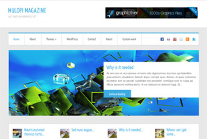 Mulopi Magazine Fre Wordpress Theme