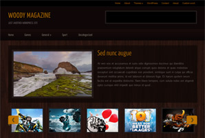 Woody Magazine Free Wordpress Theme