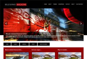 Belesermo Magazine - Free Wordpress Theme