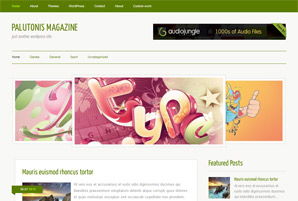 Palutonis Magazine Free Wordpress Theme