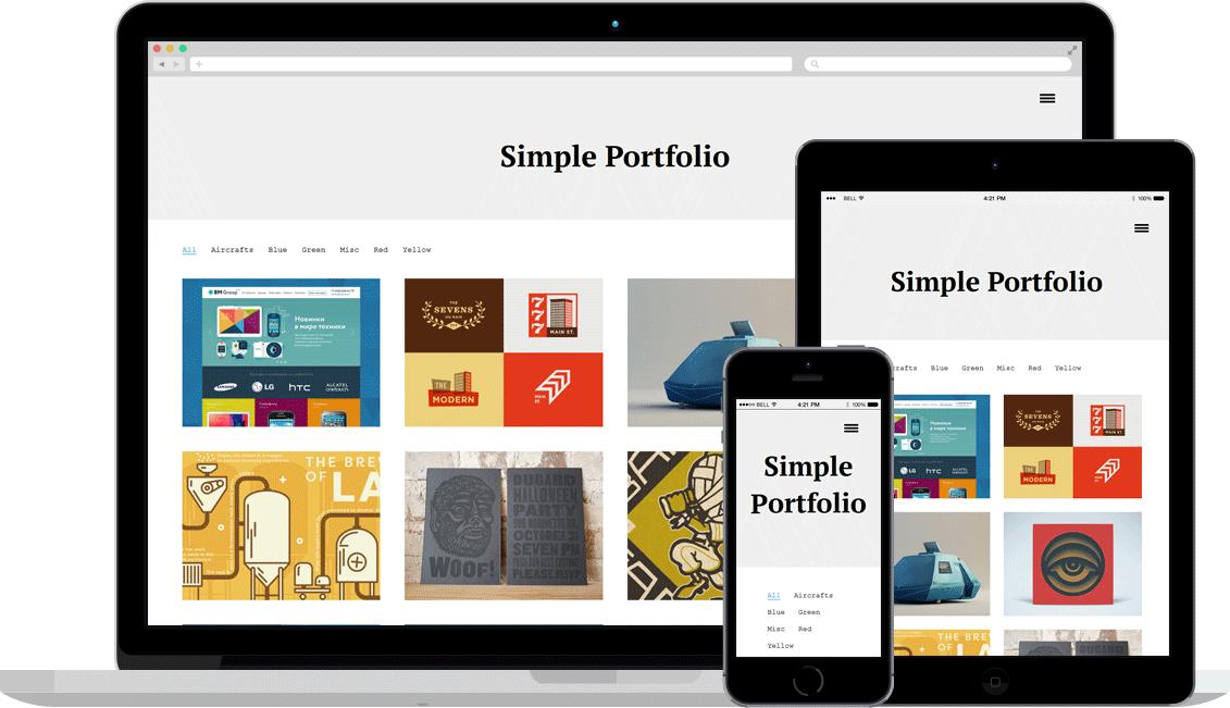 Simple_Portfolio_Responsive